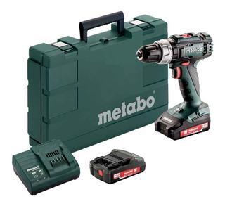 Taladro Atornillador Percusión 18v Metabo 2 Bateria Litio