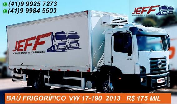 Baú Frigorífico Vw 17-190 2013