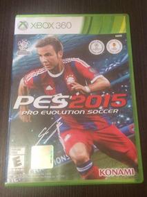 Jogo Pes 2015 - Xbox 360 (mídia Física)