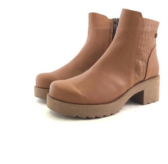 Citadina Suyai Borcego Cuero Elásticos El Mercado De Zapatos