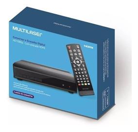 Conversor Tv Digital Hd Gravador Multilaser 3 Anos Garantia