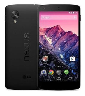 Nexus 5 D820 16gb Vidrio Templado Y Forro Muy Poco Uso