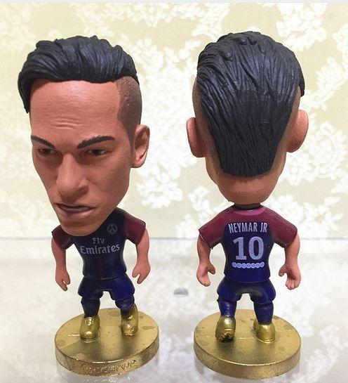 Boneco Coutinho Messi Cristiano Ronaldo Cr7 Colecionáveis