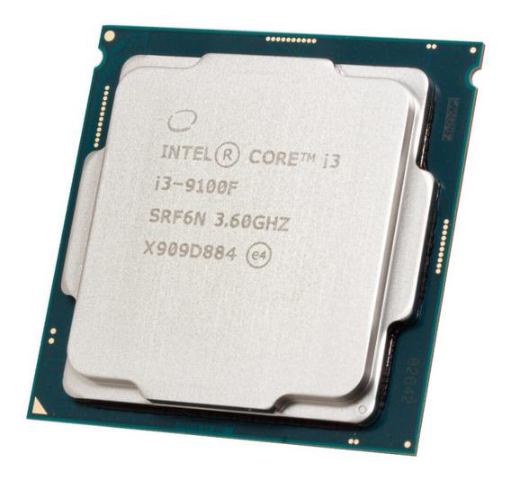 Processador Intel Core I3 9100f Lga 1151 Quad Core 4.2ghz 9ª
