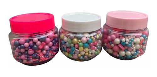 50g Sprinkles Grageas Repostería Decoración Tortas Cupcakes