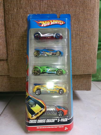 Carritos Hot Wheels (criss Cross Crash 5-pack)