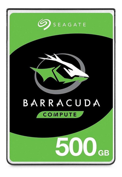 Disco duro interno Seagate Barracuda ST500LM030 500GB