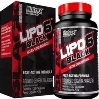 Emagrecedor Forte Lipo 6 Black 120caps Nutrex Imported