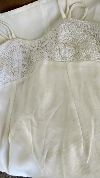Dois Vestidos: 1 Comprido E 1 Curto; 2macacões Novo,usado G.