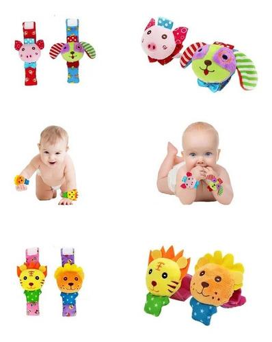 Sonajero Muñequera Animalitos- Bebés Y Niños