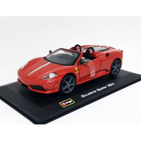 Miniatura Ferrari Scuderia Spider 16m Race 1:32 Burago