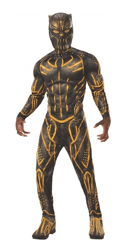 Disfraz Hombre Pantera Negra Talla Large Halloween Nuevo