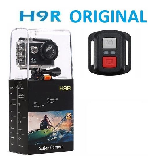 Action Câmera H9r Estilo Gopro Fullhd 4k Wifi Com Controle