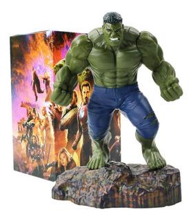 Boneco Hulk Coleção Avengers 20 Cm Figura De Ação