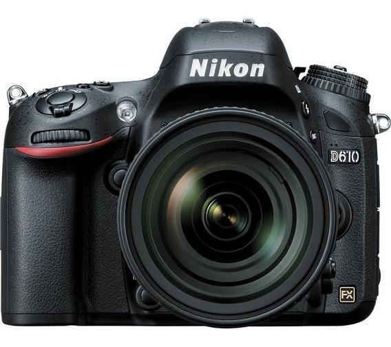 Nikon D610 Lente Af-s 24-85mm Vr Nota Fiscal