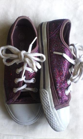 Zapatos Para Niñas Tipo Converse