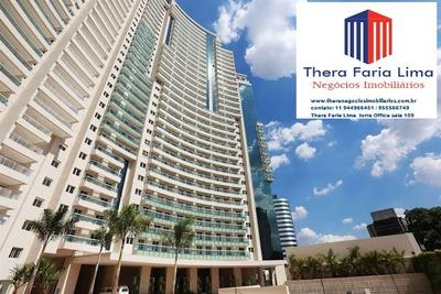 Sala Comercial Nova, 48 M², No Condomínio Thera Faria Lima