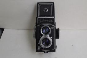 Câmera Fotográfica Tlr Yashica Flex Filme 120 Lomo Yashicam