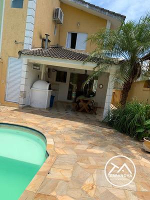 Casa Com 03 Dormitório(s) Localizado(a) No Bairro Boracéia Em Bertioga / Bertioga - Ca0065
