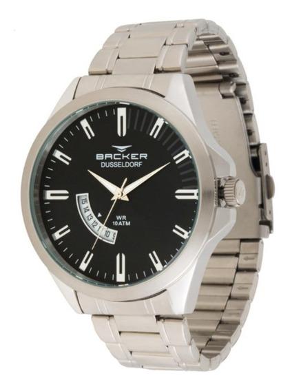 Relógio Becker Black Friday - 6107253m Barato
