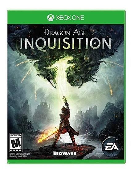 Jogo Xbox One Dragon Age Inquisition (midia Fisica)