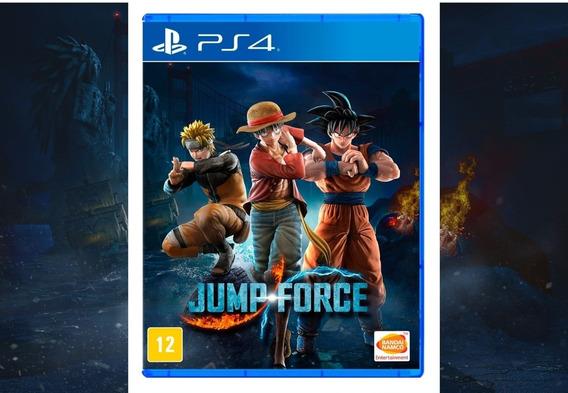 Jump Force Ps4 Mídia Digital Original 1 Promoção Barato