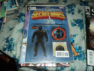 Guerras Secretas Capa Pantera Negra Marvel Hqs Ebal Bloch