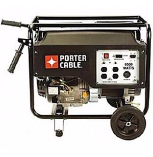 Grupo Electrogeno Generador Porter Cable 5kva. Uso Intensivo