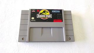 Jurassic Park Cartucho Para Super Nintendo Snes 1993 Ocean