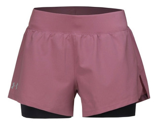 Short Under Armour Launch Sw 2in1 Mujer