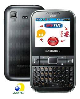 Celular Raro Samsung Gt-c3222, 2 Chips, Nacional Anatel, Rádio, Cartão, Mp3, Bleutooth, Novo Na Caixa, Entrada Antena