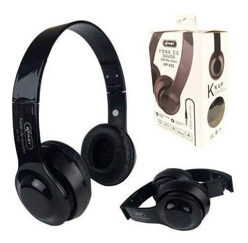 Fone Com Microfone Blueto Kp-471