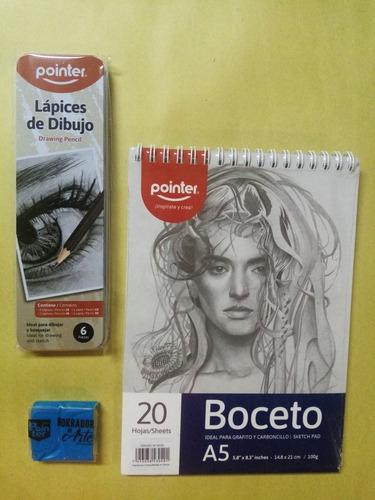 Imagen 1 de 1 de Kit De Dibujo