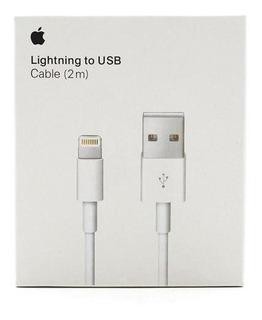 Cable Datos Lightning A Usb 2 Metros Apple