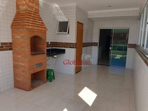 Casa Com 3 Dormitórios À Venda, 166 M² Por R$ 783.000,00 - Marapé - Santos/sp - Ca0098