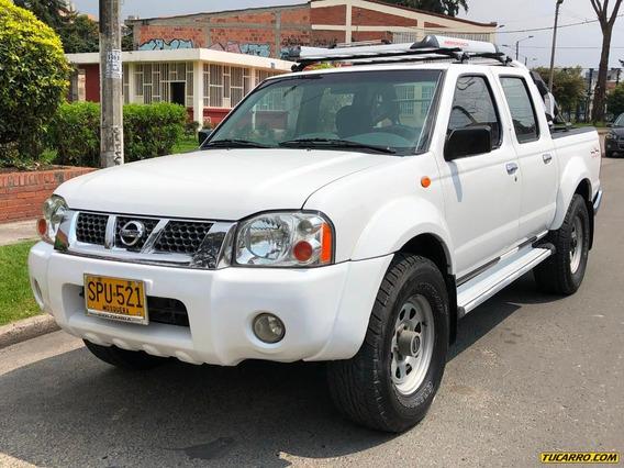 Nissan Frontier Ax 3000cc 4x4 Tdi Mt Aa Ab Abs