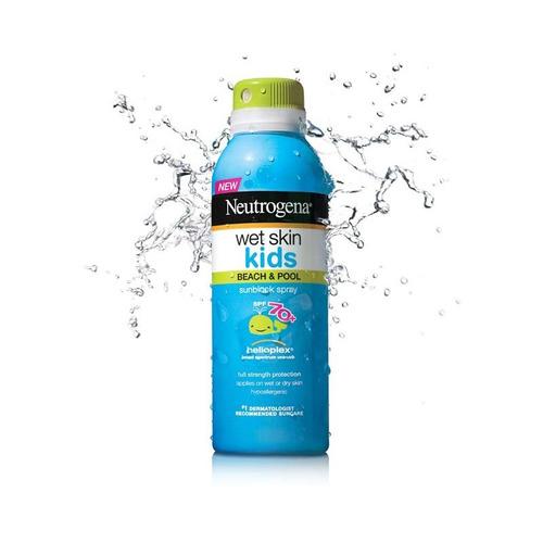 Protetor Solar Neutrogena Wet Skin Kids Spray  - Importado