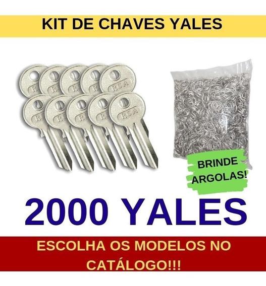 2000 Chaves Yales Virgens Para Cópia - Vários Modelos - Rca
