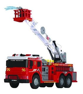 Camion Bomberos Lanza Agua Gigante Luces Sonido / Diverti