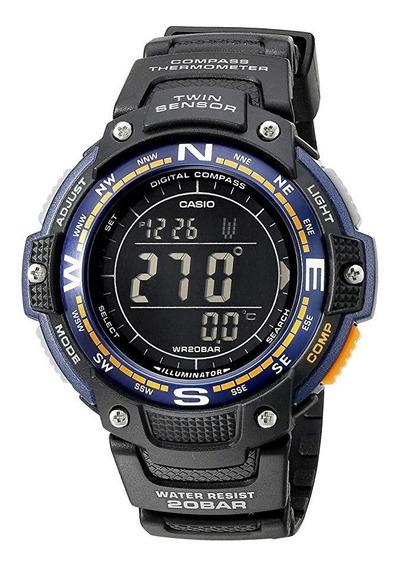 Relógio Casio Twin Sensor Sgw-100-2bcf Original