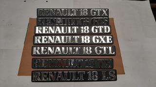 Emblema Insignia Renault 18 - Renault 9 -renault 11