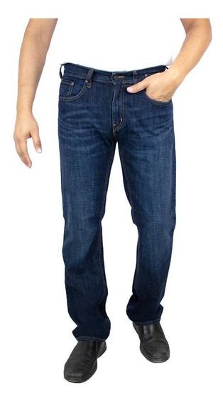 Jeans Breton De Mezclilla Para Caballero. Slim Fit. Bjm028