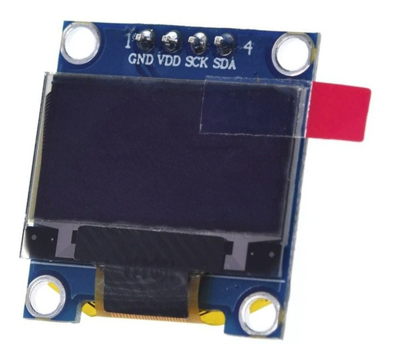 Display Oled 0.96 Azul 128x64 I2c Sh1106 Arduino Gm009605v4