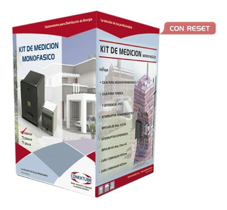 Kit Caja Medidor Pilar Monofasico Edesur Termica Disyuntor