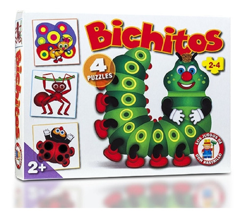 Juego De Mesa Puzzle Bichitos Ruibal Mejor Precio