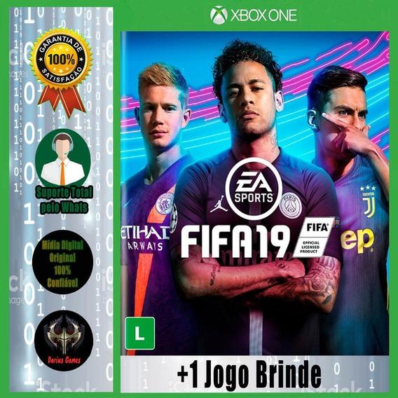Fifa 19 Xbox One Midia Digital +1 Jogo Brinde