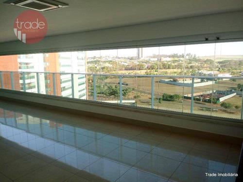 Apartamento Com 4 Dormitórios Para Alugar, 381 M² Por R$ 10.000,00/mês - Vila Do Golf - Ribeirão Preto/sp - Ap3078
