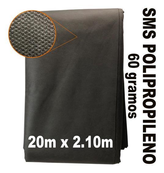 Rollo Tela Cubrebocas Polipropileno Pellon Sms 20 Metros
