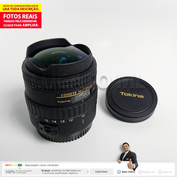 Lente Tokina 10-17mm F/3.5-4.5 Dx Atx P/ Canon +frete Grátis