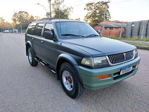 Imagem 1 de 10 de Mitsubishi Pajero Sport 1999 3.0 V6 4x2 Gnv/gasolina Aut.
